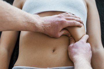 diaphragm massage